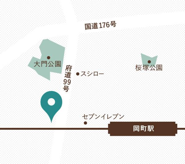 なかふじ歯科クリニックの地図